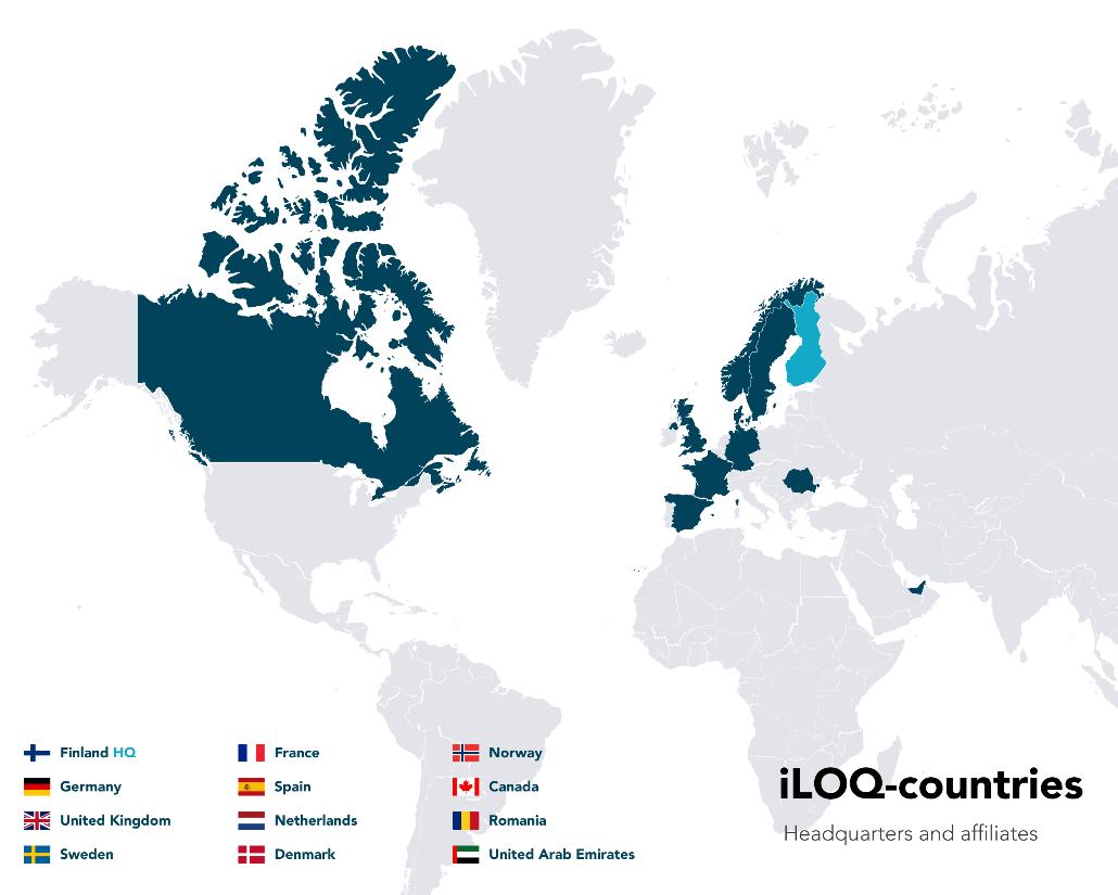 Iloq countries